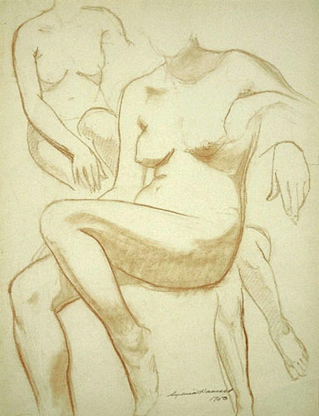 Études de nus féminins (nº 11)