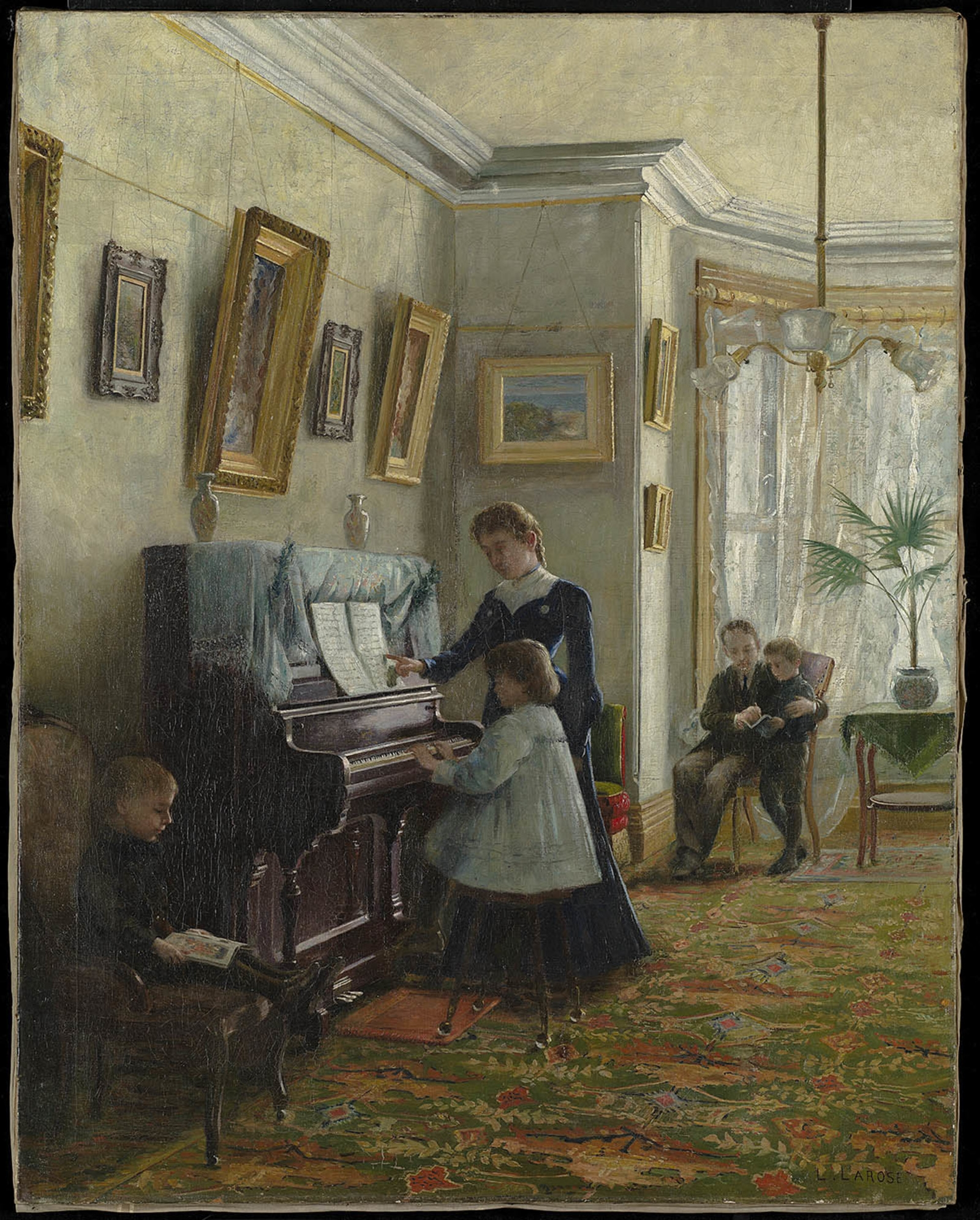 Jeanne au piano