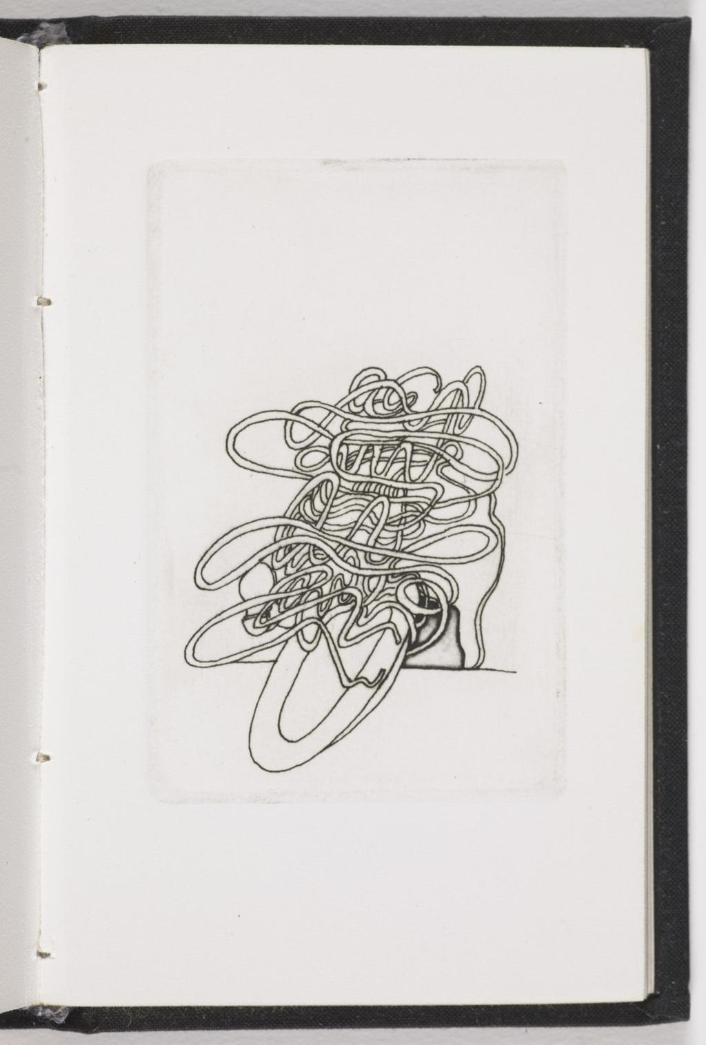 Ff ou i i i i ill è èye, du livre d'artiste «Spaghettata»