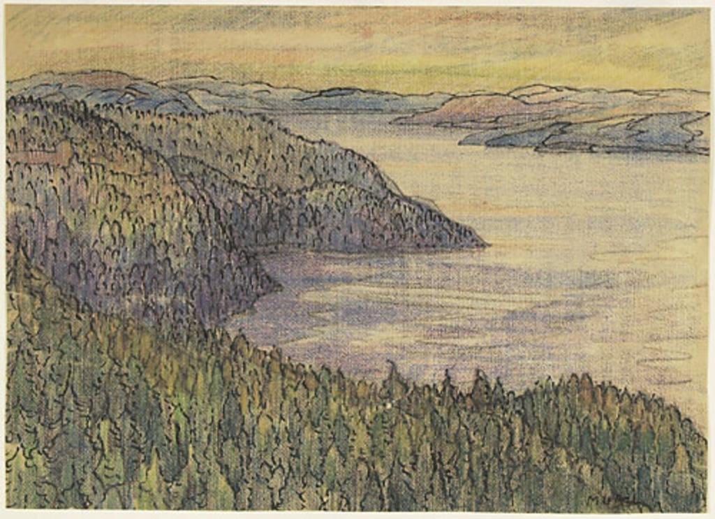 Le Saguenay vu du Cap-Tourmente