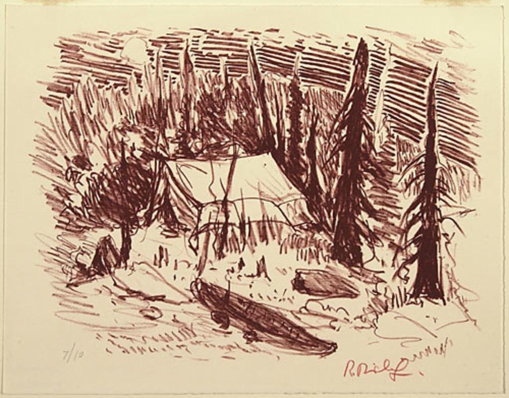 Le Campement, du livre d'artiste «La Montagne secrète»