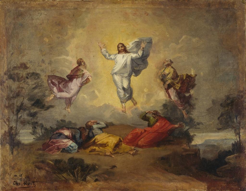La Transfiguration. Esquisse pour la voûte de l'église de Saint-Sauveur, Québec