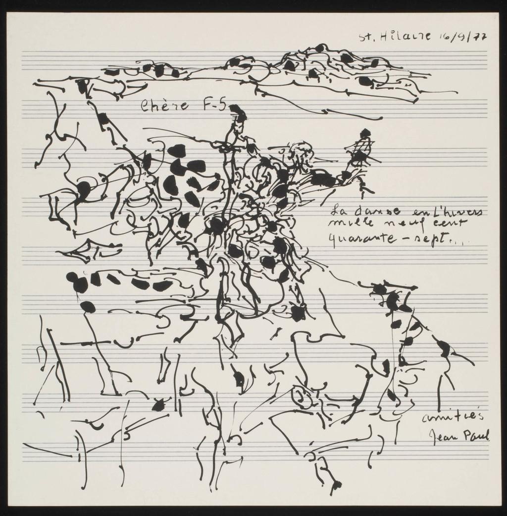 La Danse en l'hiver mille neuf cent quarante-sept, de l'album «Danse dans la neige»