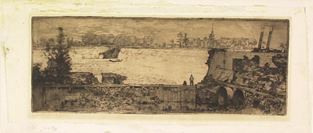 L'Église et le barrage de Chambly