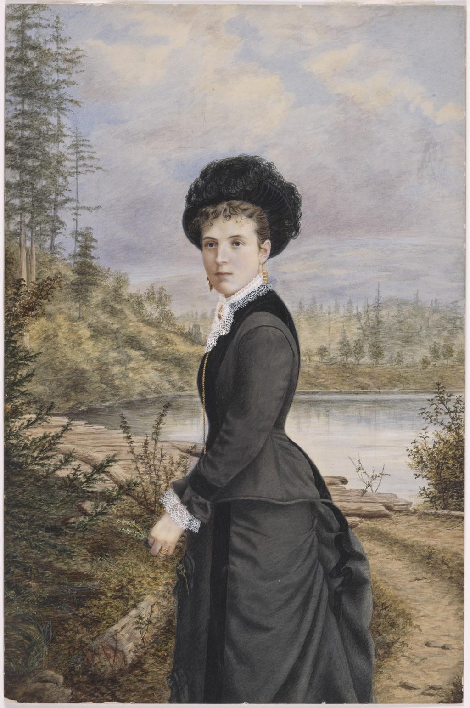 Madame Jules-Ernest Livernois, née Marie-Louise Larocque