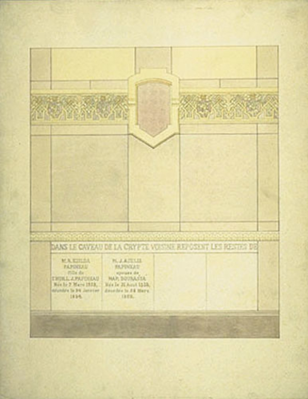 Caveau funéraire de la famille Bourassa, Montebello