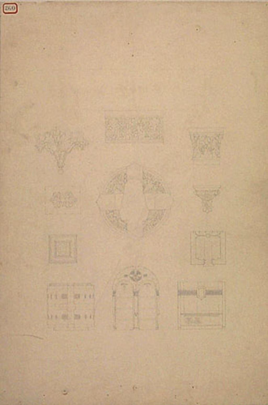 Caveau funéraire de la famille Bourassa, Montebello. Motifs décoratifs