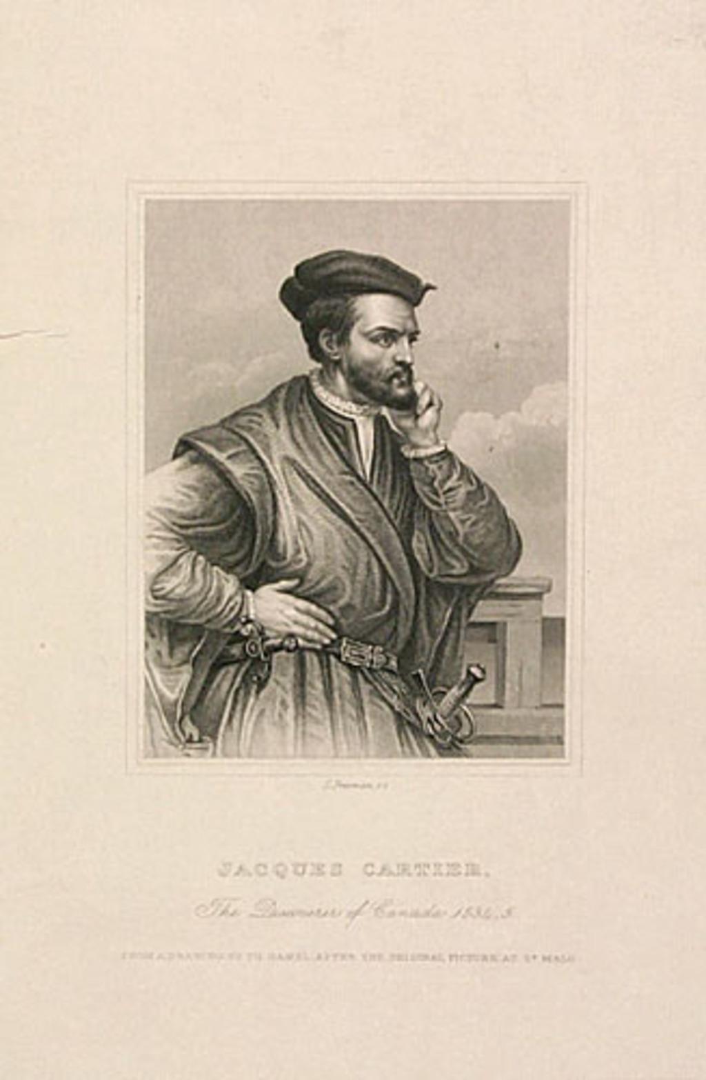 Jacques Cartier, de l'album Canada. Dessins historiques