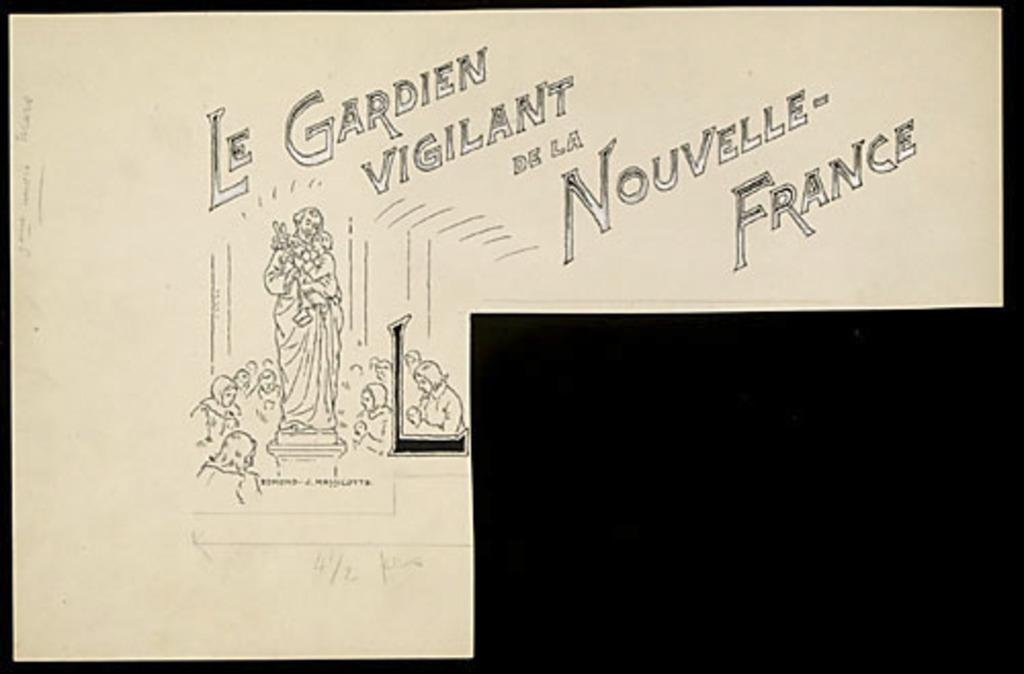 Le Gardien vigilant de la Nouvelle-France (Saint Joseph)