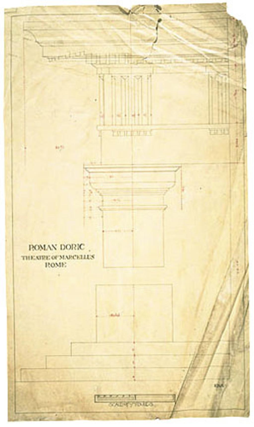 Roman Doric, Theatre of Marcellus, Rome