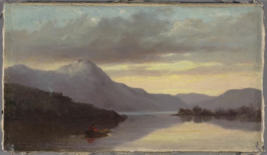 Le Soir, sur le lac Memphrémagog