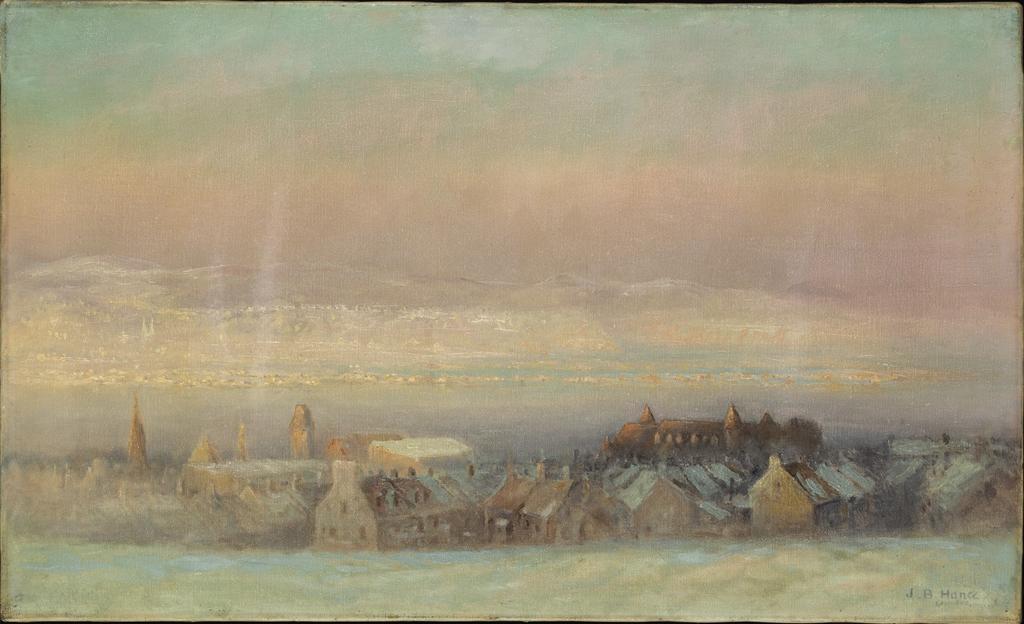 Québec vu des glacis