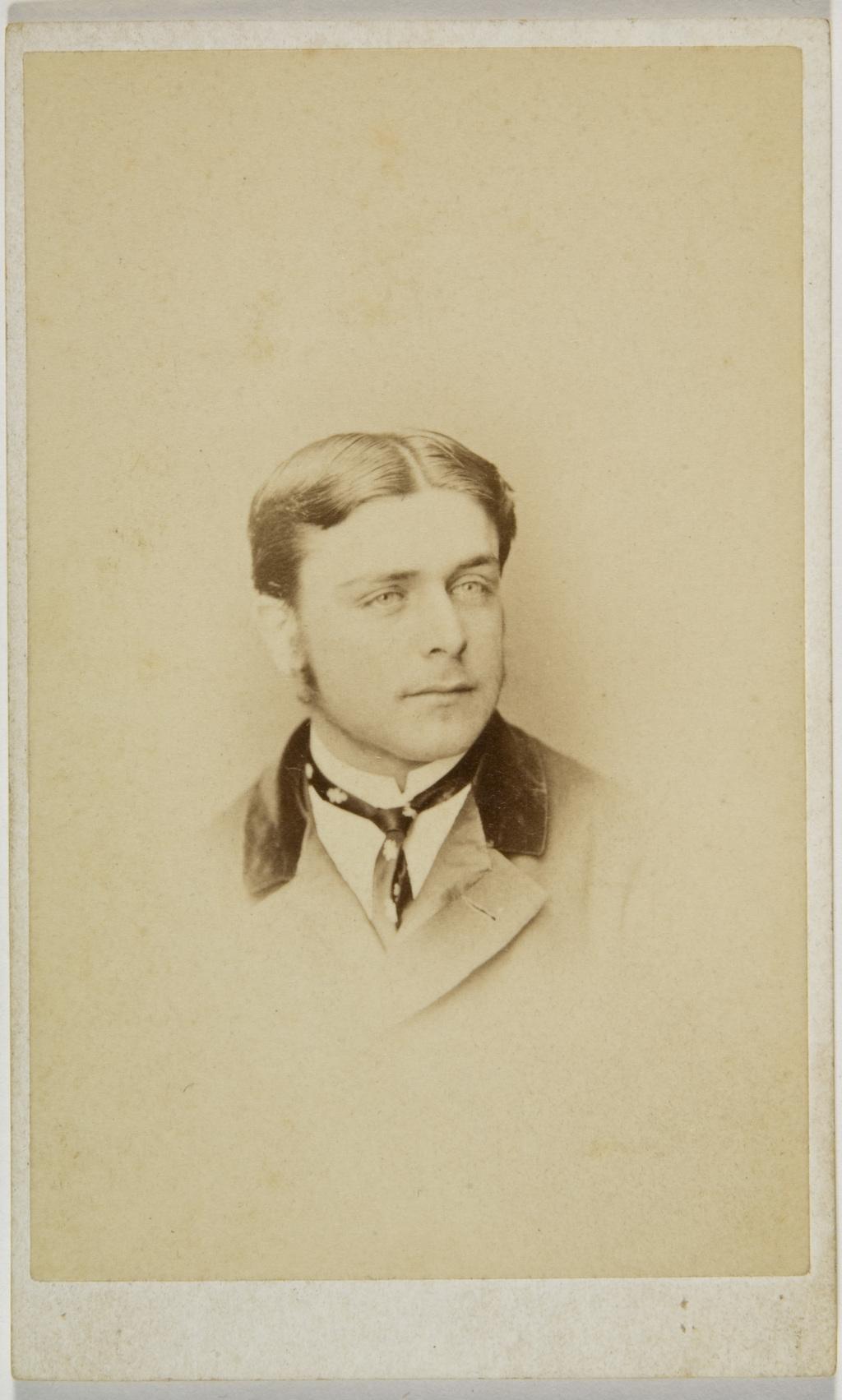 Monsieur A. Lemoine, de l'album de la famille Taché-Cimon