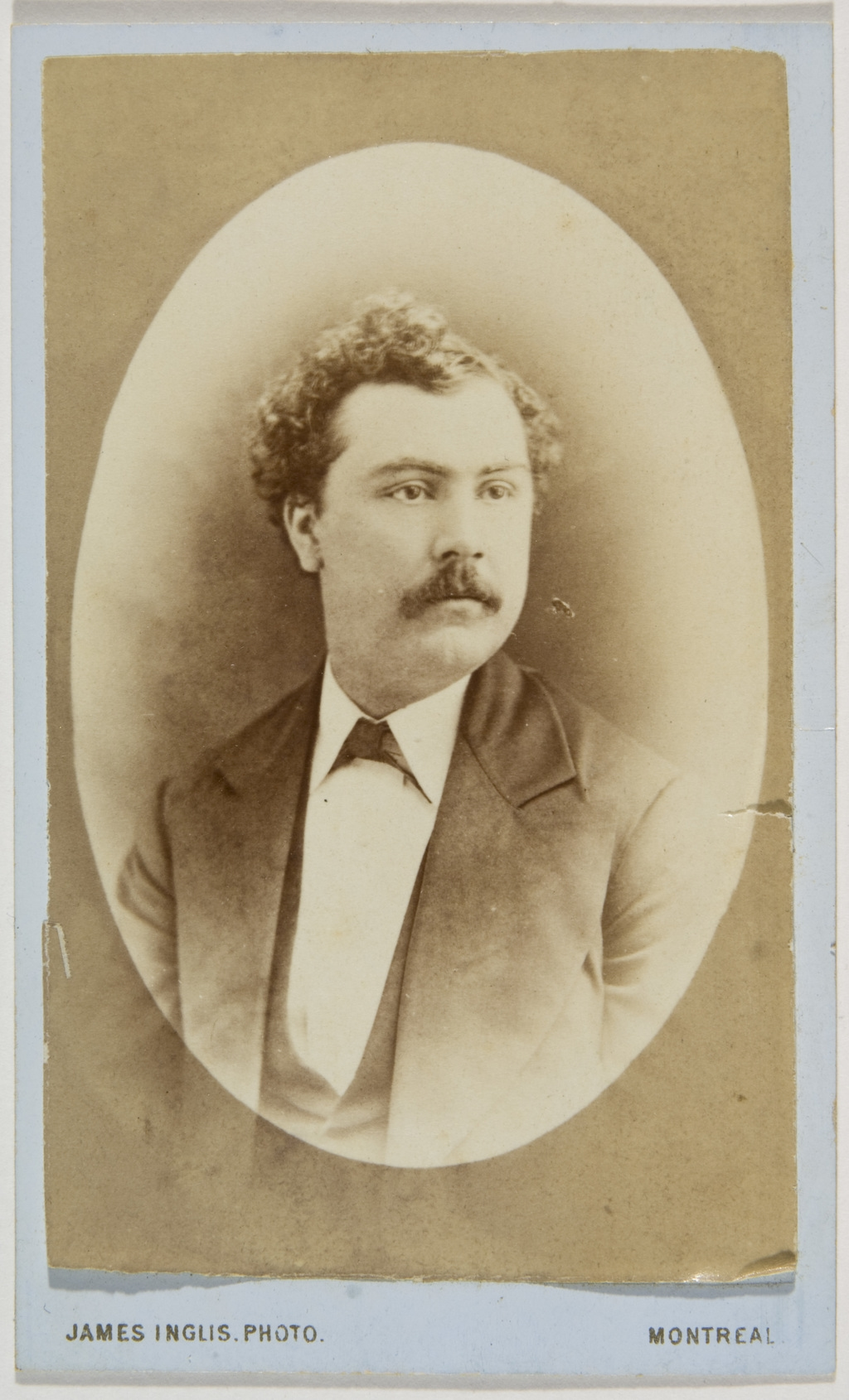 Monsieur Pelletier, de l'album de la famille Taché-Cimon