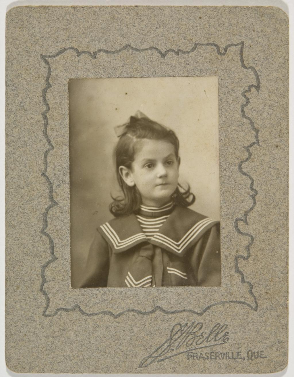 Claire Bouliane, de l'album de la famille Taché-Cimon