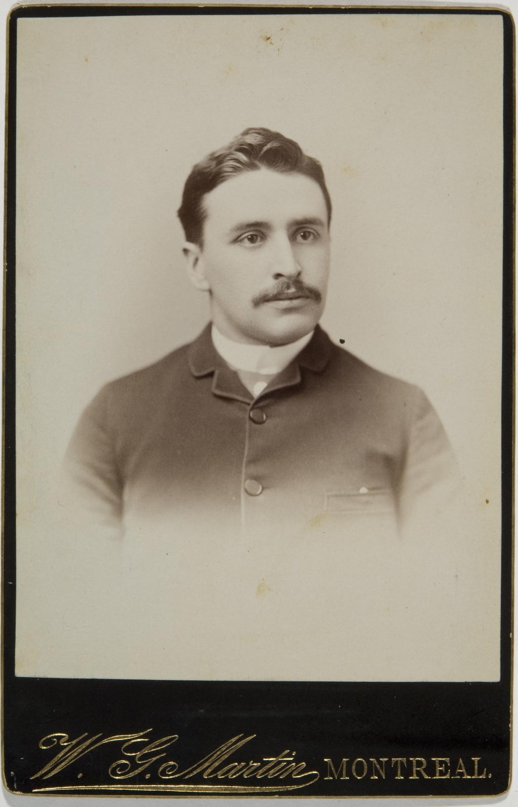 Alfred Duberger, de l'album de la famille Taché-Cimon