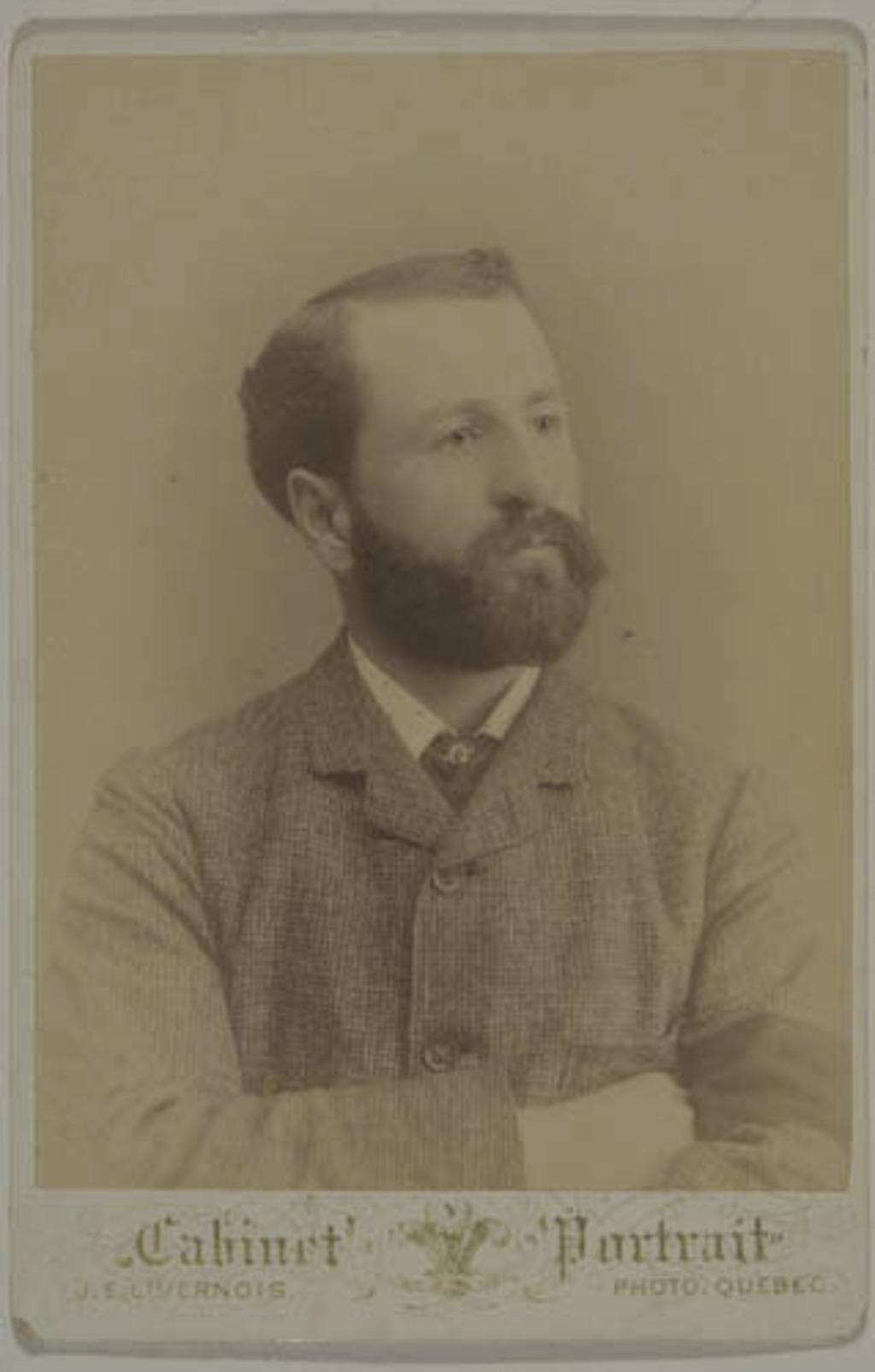 Herménégilde Pouliot, de l'album de la famille Taché-Cimon