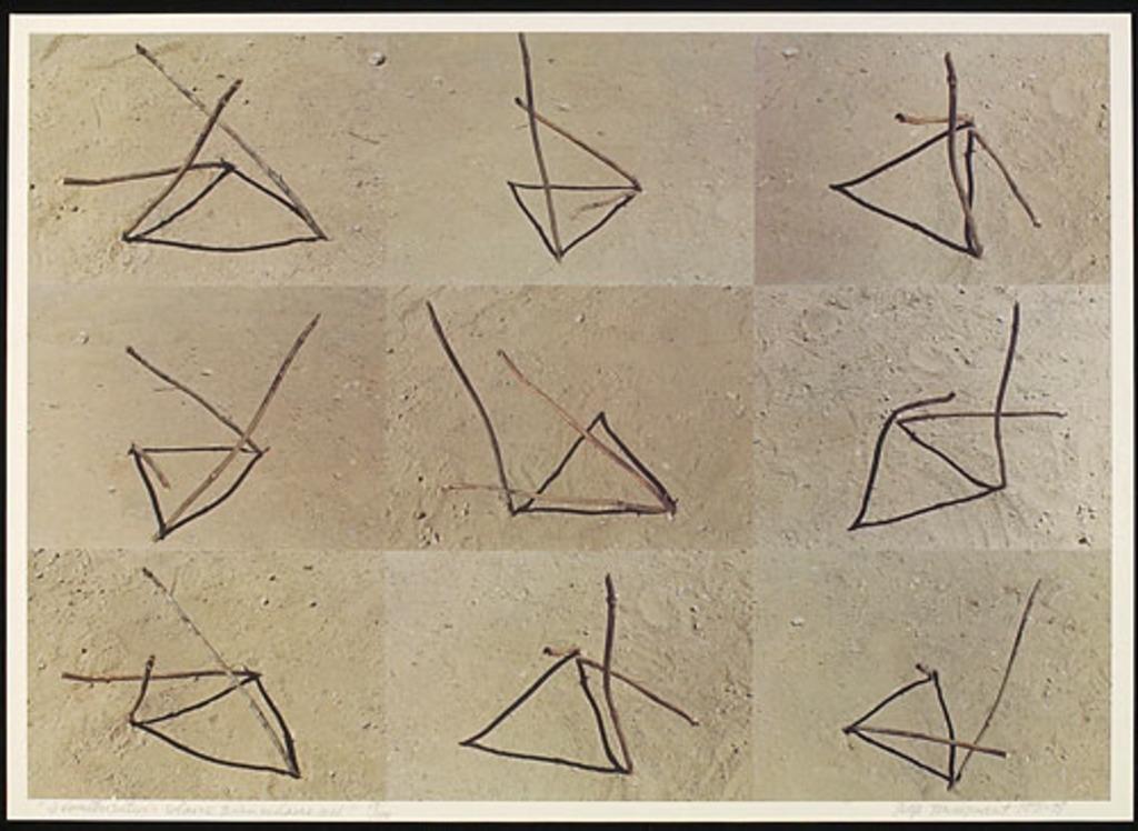Géométrisation solaire triangulaire nº 1