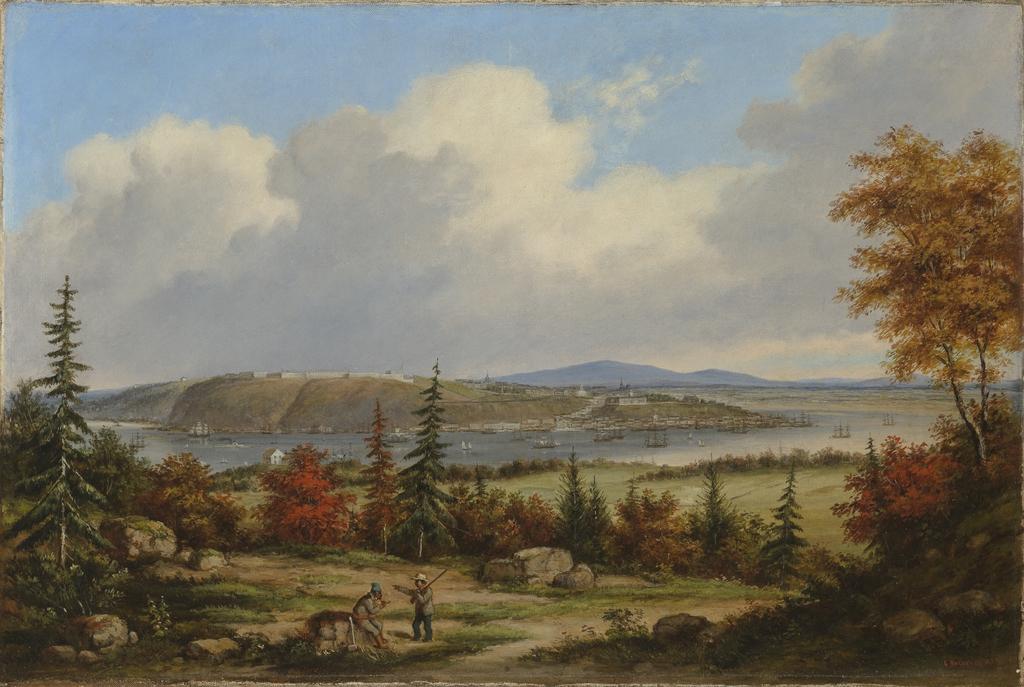 Québec vu de la pointe De Lévy