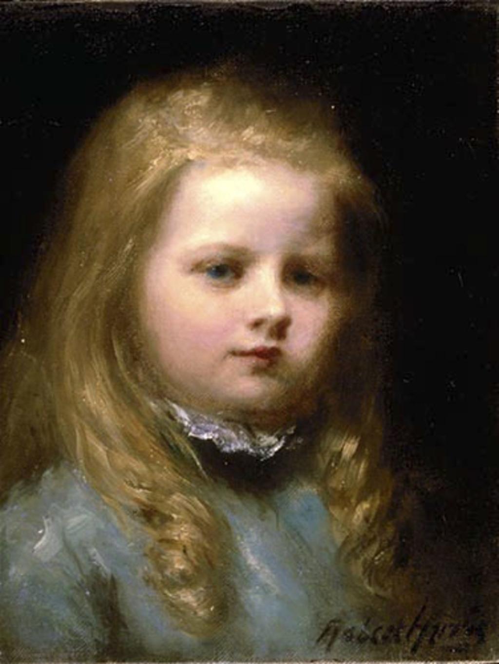 Lilias Torrance Newton, jeune fille