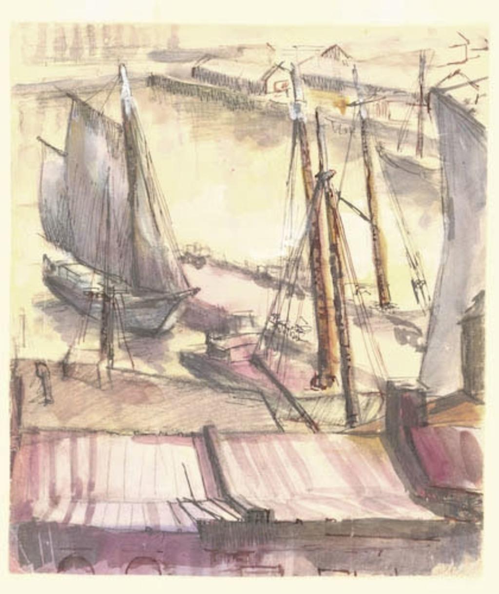 Dans le port
