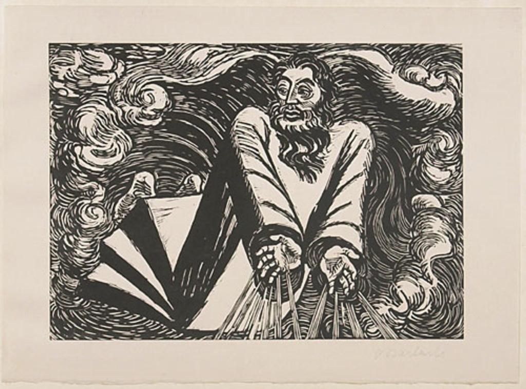 Le Premier Jour, du livre d'artiste Die Wandlungen Gottes (Les Métamorphoses de Dieu)