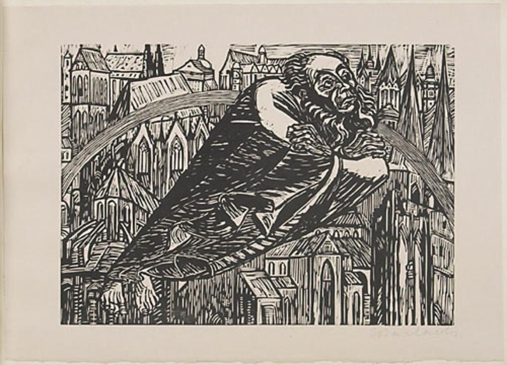 Les Cathédrales, du livre d'artiste Die Wandlungen Gottes (Les Métamorphoses de Dieu)