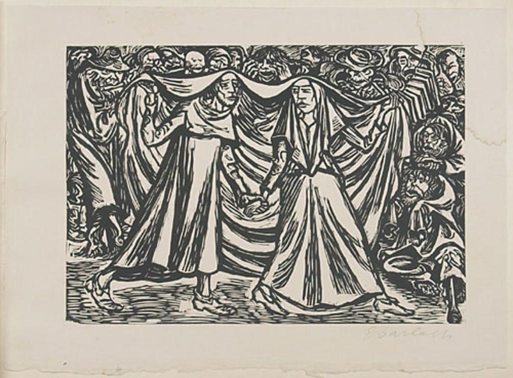La Danse de la Mort, du livre d'artiste Die Wandlungen Gottes (Les Métamorphoses de Dieu)