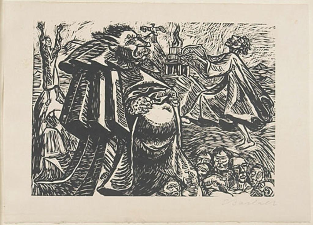 Dieu « Belly », du livre d'artiste Die Wandlungen Gottes (Les Métamorphoses de Dieu)