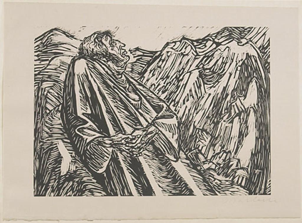 Les Collines, du livre d'artiste Die Wandlungen Gottes (Les Métamorphoses de Dieu)