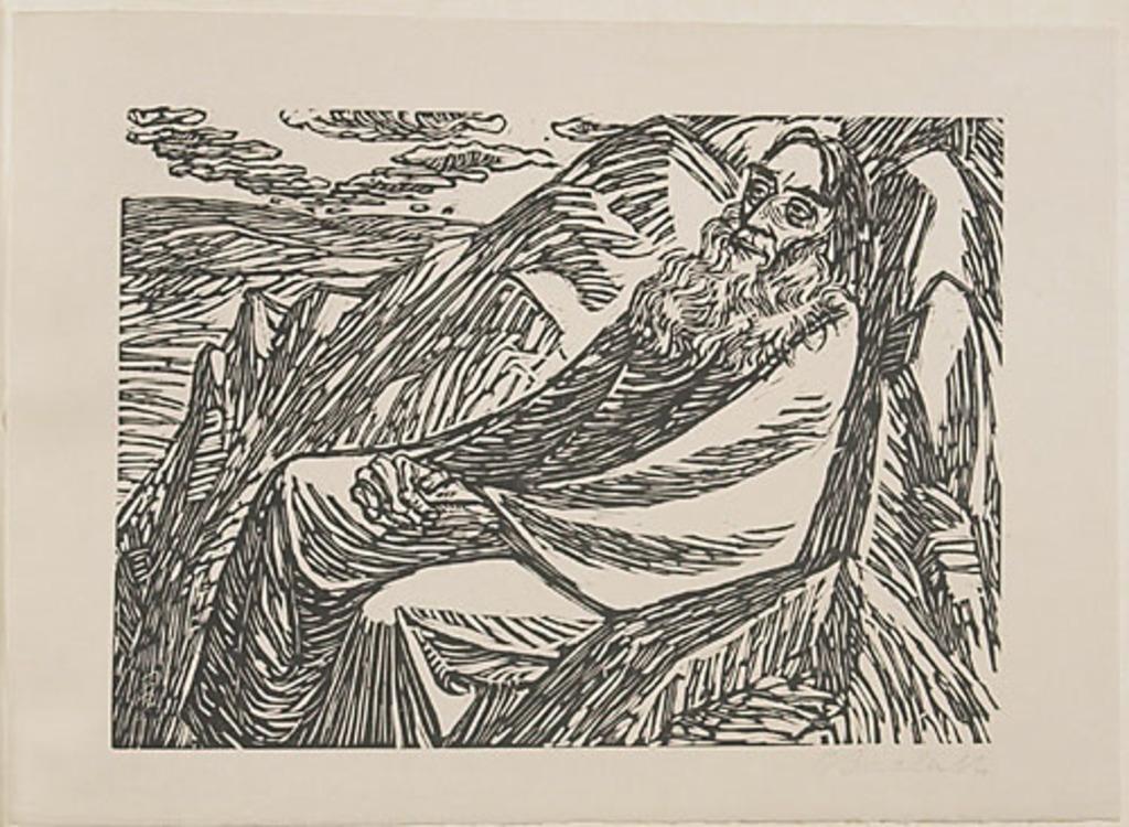 Le Septième Jour, du livre d'artiste Die Wandlungen Gottes (Les Métamorphoses de Dieu)