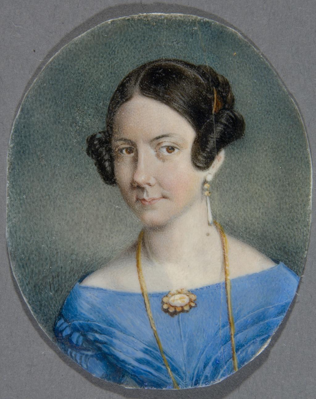 Madame Narcisse-Fortunat Belleau, née Marie-Reine Josephte Gauvreau
