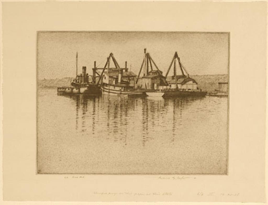 Dredging Flotilla, Montreal Harbour
