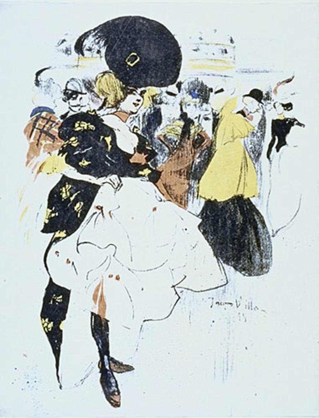 Danseuse au Moulin Rouge