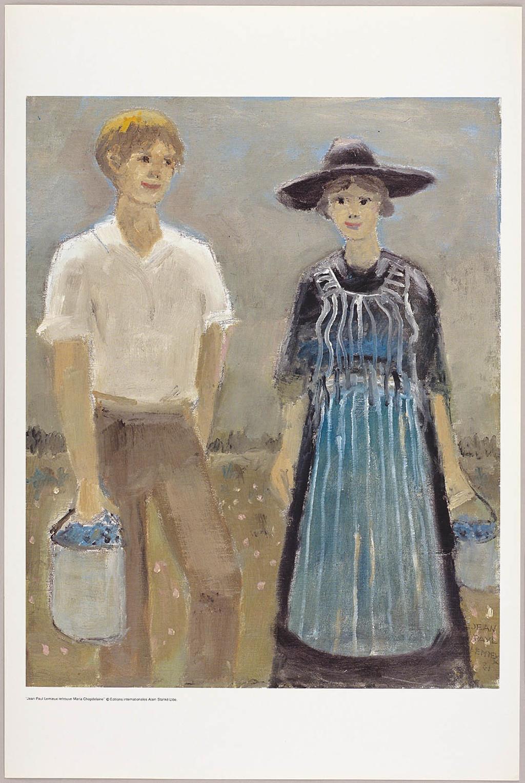 La Cueillette des bleuets, du livre illustré Jean Paul Lemieux retrouve Maria Chapdelaine