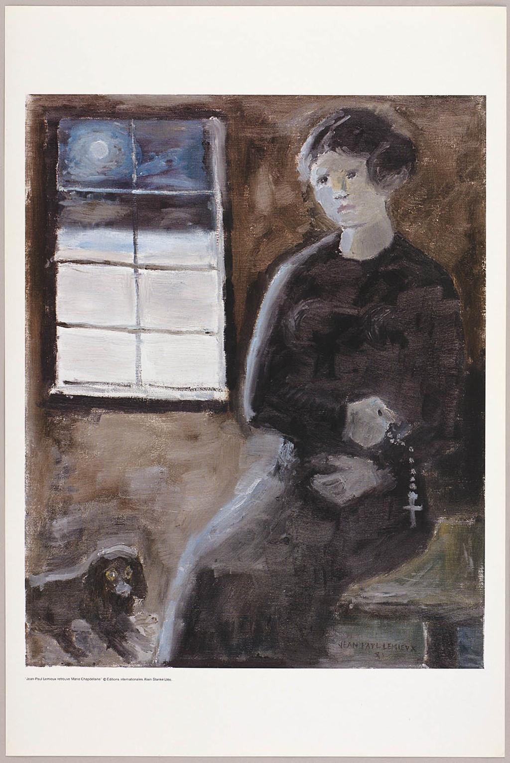Les Mille Ave, du livre illustré Jean Paul Lemieux retrouve Maria Chapdelaine