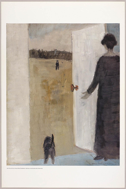 La Visite, du livre illustré Jean Paul Lemieux retrouve Maria Chapdelaine