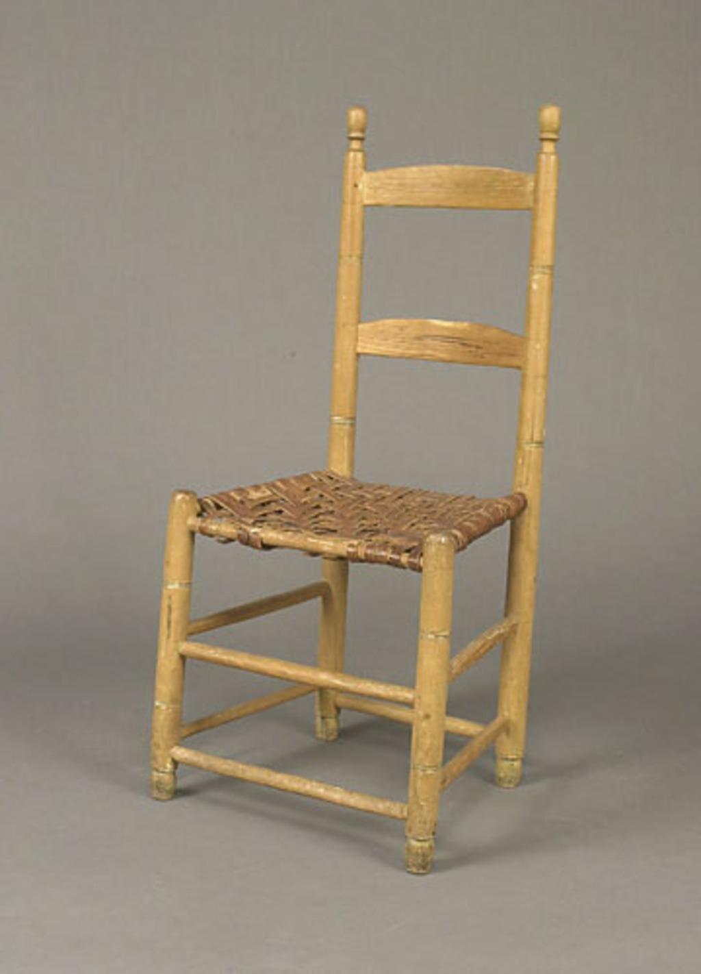 Chaise dite de Chambly à deux voliches