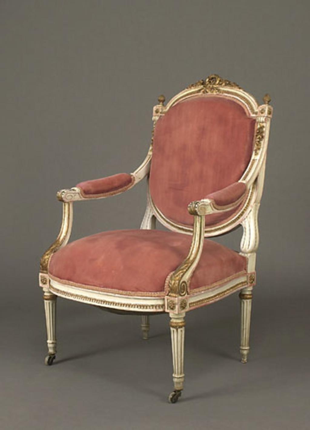Fauteuil néo-Louis XVI