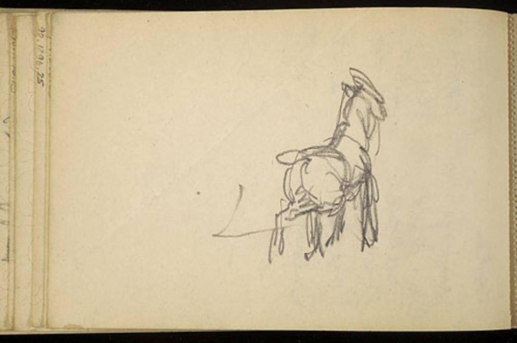 Esquisse de cheval