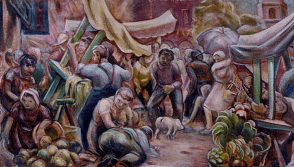 Porc au marché