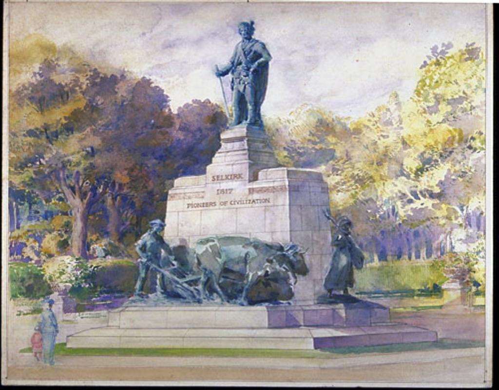 Projet de «Monument à lord Selkirk»