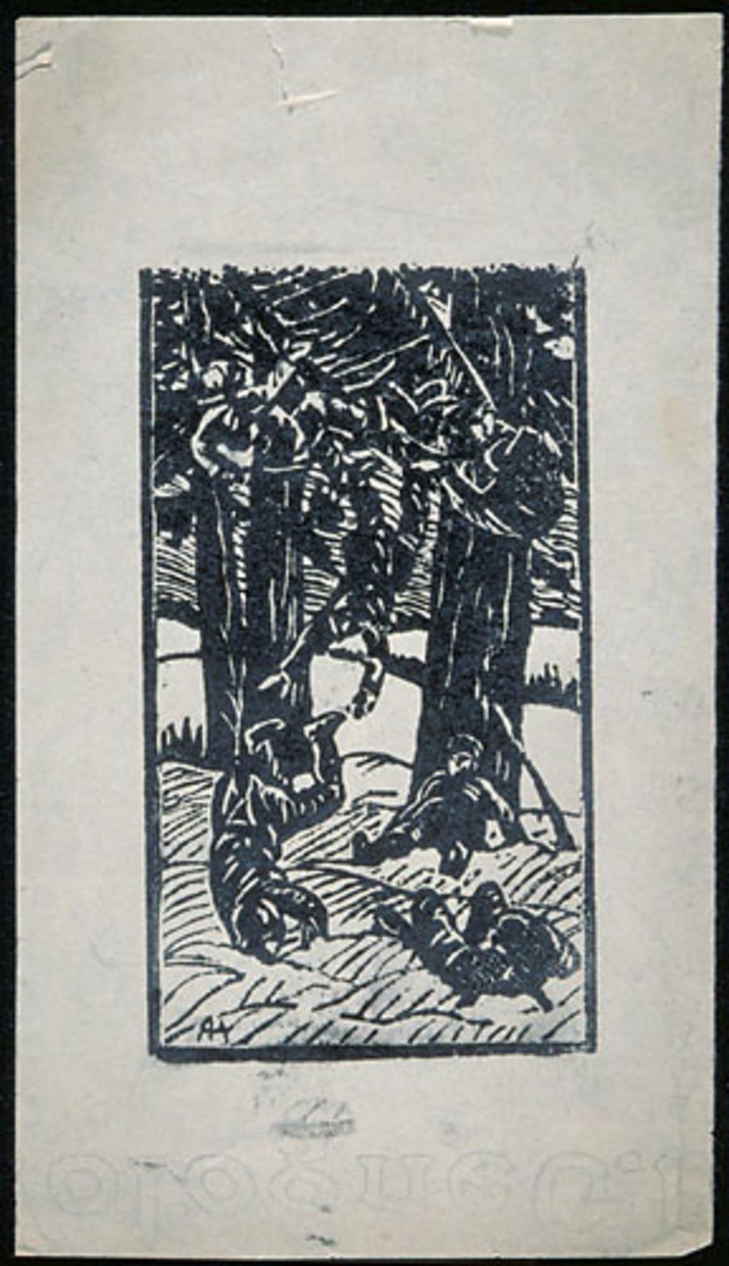 La Dégringolade, scène de « La Chasse-galerie »