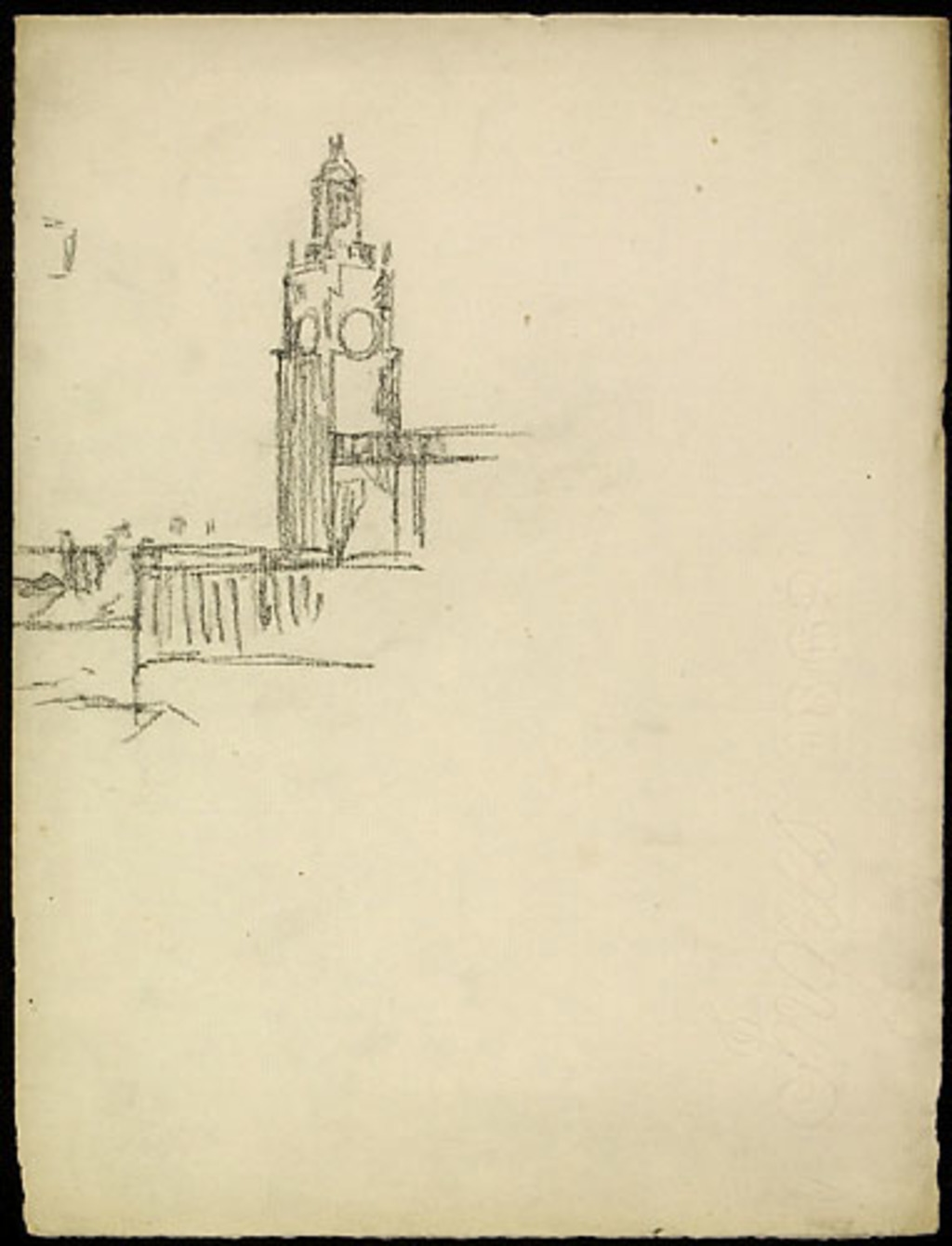 Tour de l'horloge dans le port de Montréal