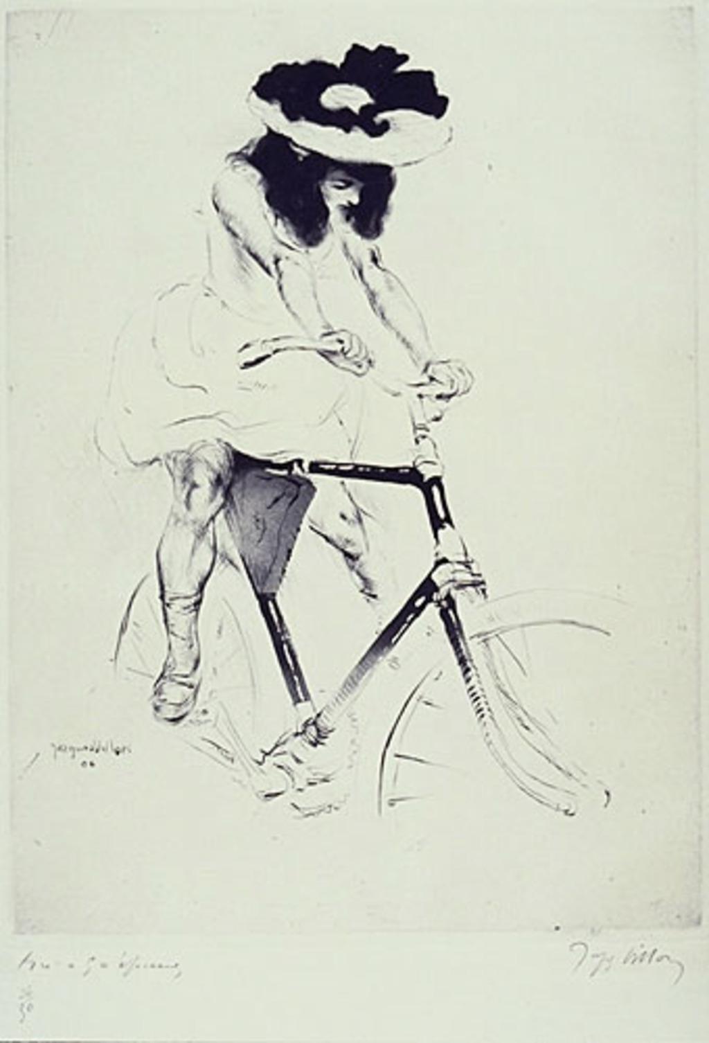 Renée à bicyclette ou Un début