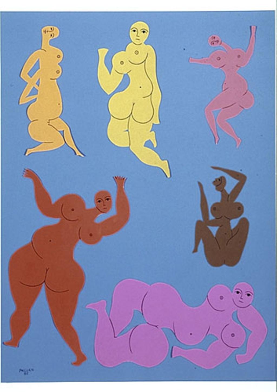 Six Femmes boules - A