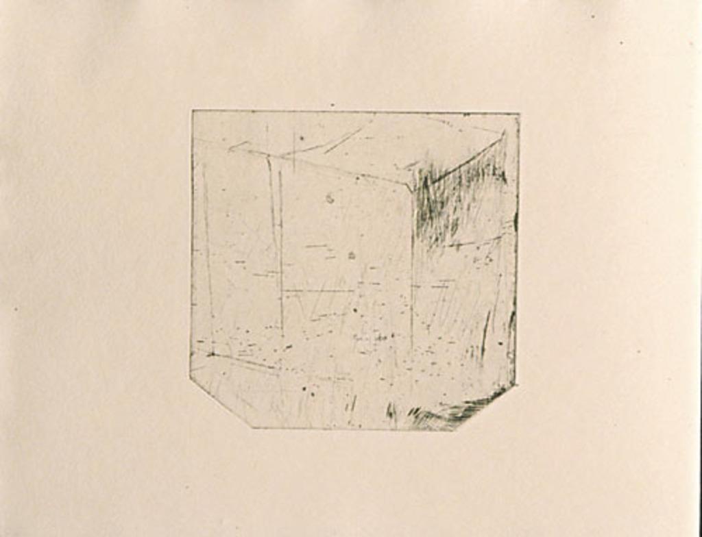 Sans titre, du livre d'artiste «Tombeau de René Crevel»
