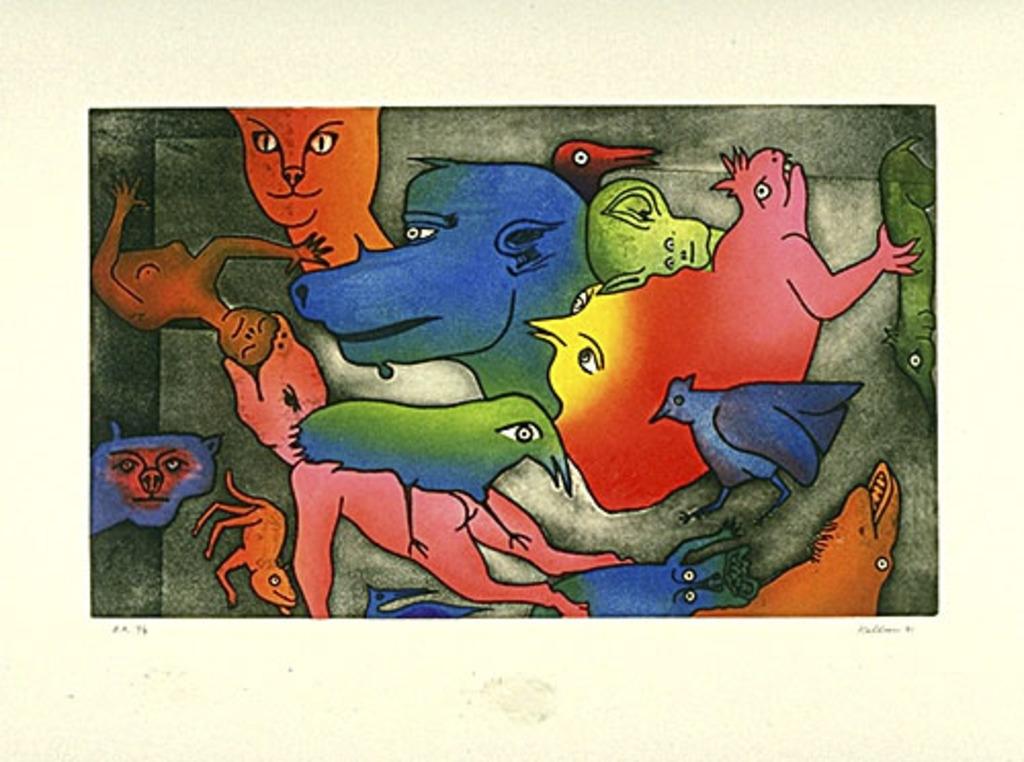 À l'avalée, du livre d'artiste «Délirium Concerto»
