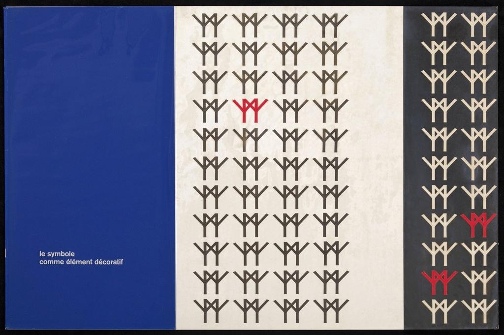 Maquette pour le logo de Terre des Hommes (Expo 67). Carton 9