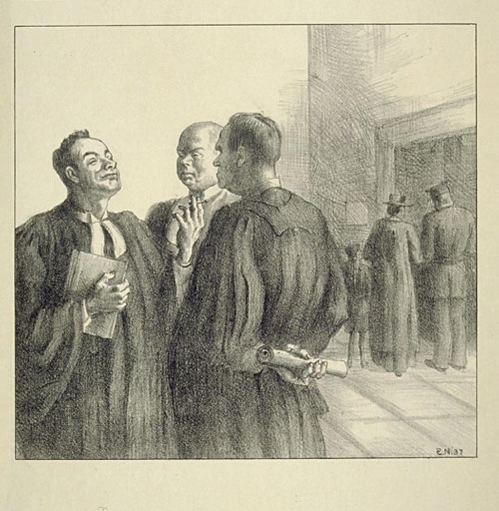 Les Hommes de Loi. Juges à la Cour